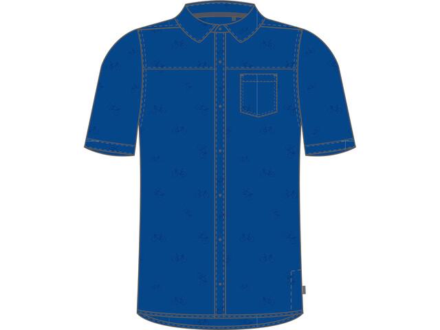 PEARL iZUMi Rove T-shirt Heren, lapis bike rack